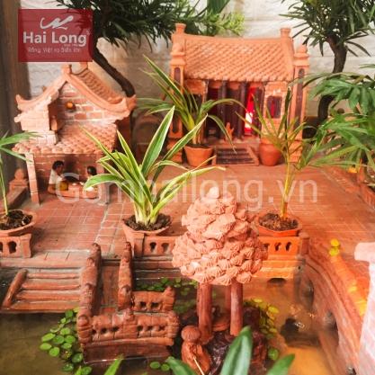 Tieu canh mini gom su Hai Long Bat Trang