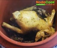 Bí quyết cách làm món Gà hấp muối bằng Nồi đất NodaCook