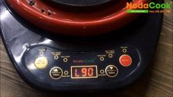 Hướng dẫn nấu cháo chậm cho bé với nồi đất điện tự động NodaCook