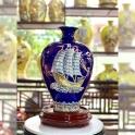 Bảo Bình Vẽ Vàng gốm sứ Hải Long Bát Tràng