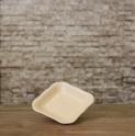 Đĩa muối vuông men mát kem