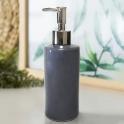 Bình đựng nước rửa tay - sữa tắm - dầu gội - dưỡng thể bằng gốm sứ (ghi xám)