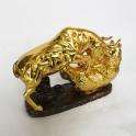 tượng trâu dát vàng gốm sứ_2