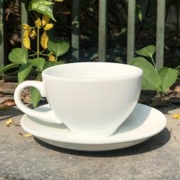 Tách Cà phê Capuccino Ý 280 (Màu Trắng) - Gốm sứ Hải Long Bát Tràng