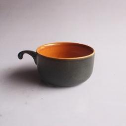 Cốc cafe truyền thống quai nửa gốm Hải Long