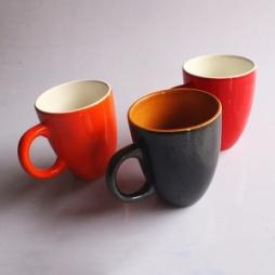 cốc latte dáng ý quai C gốm Hải Long Bát Tràng