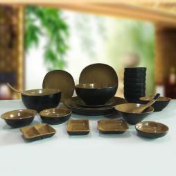 bộ bát đĩa sứ phong cách Nhật